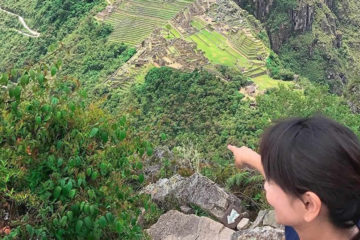 mountain huayna picchu